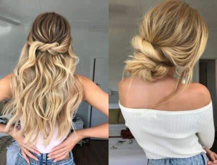 hair style curly
